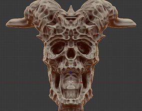 3D model FREE SKULL FROM TWITCH