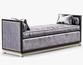 Luxdeco Orsi Bronze Chaise VIII 3D asset VR / AR ready