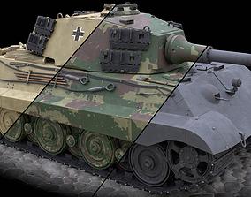 Panzerkampfwagen VI Ausf B Tiger II 3D model