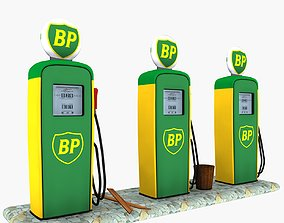 3D model Gas Pump BP