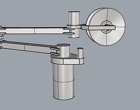 3D print model McGregor Triplex series crane