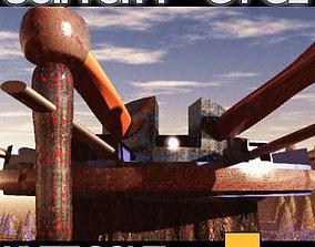 Sci Fi City Futuristic Architecture G1 G2 3D model