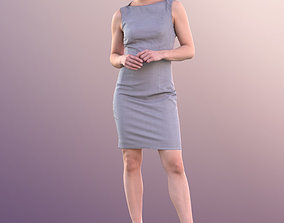 3D asset Juliette 10808 - Standing Business Woman
