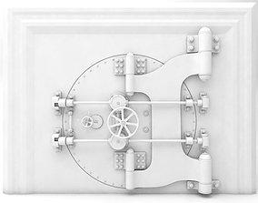 3D model Detailed Bank Safe