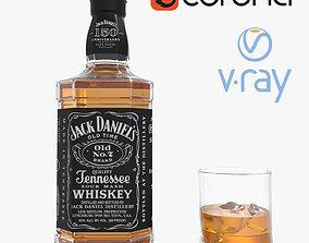 3D Jack Daniels Whiskey
