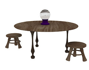 Fortune Teller Table 3D