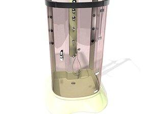 3D model Modern Shower Cabin