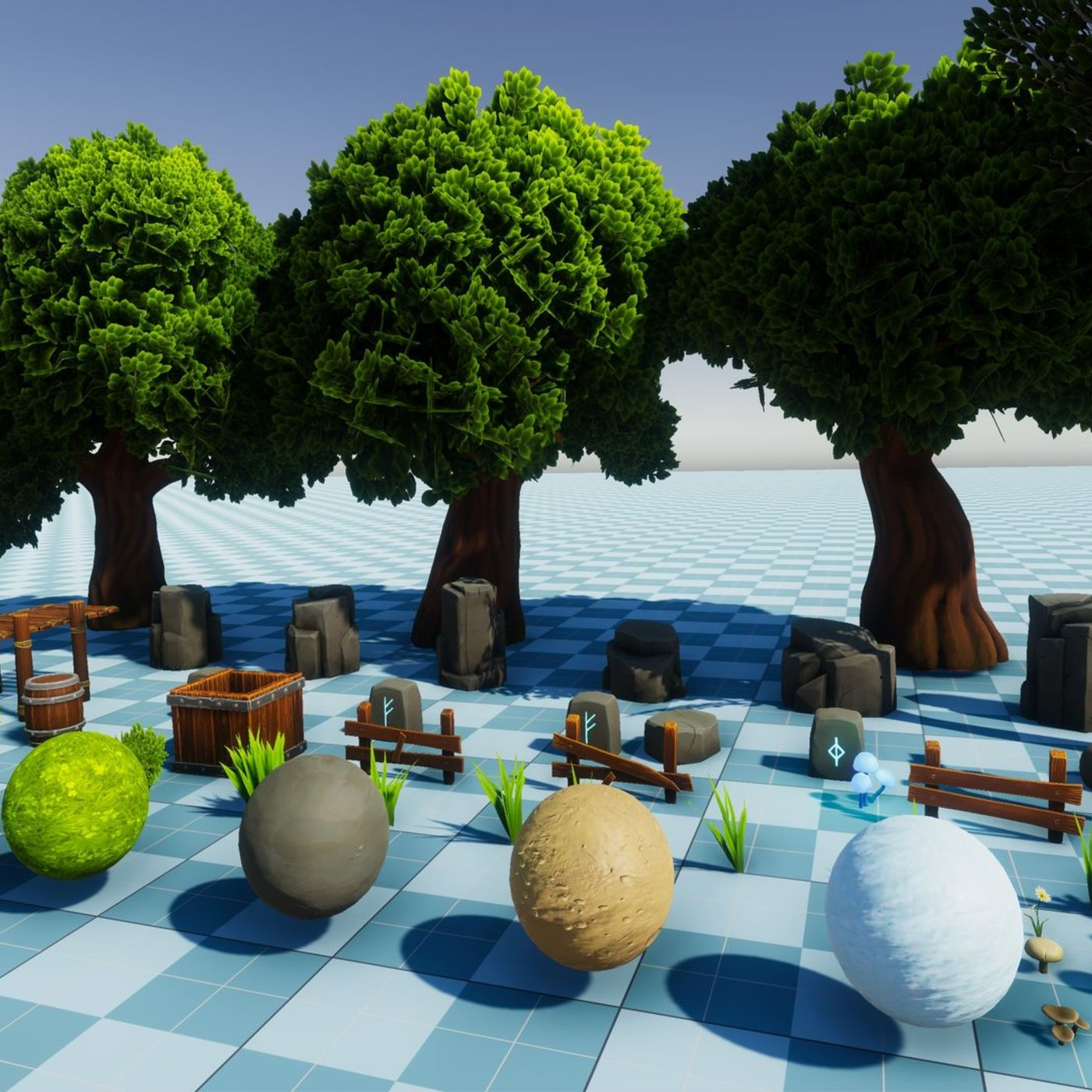 Stylized PBR Environment for Unity