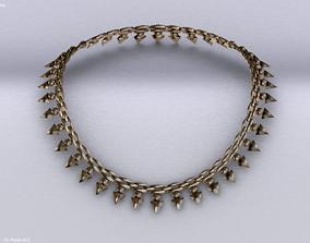 Necklace jewlery 3D model realtime