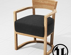Flexform Barchetta Chair UE4 3D model