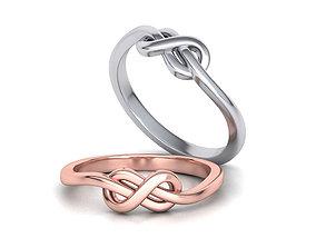Knot Infinity Forever ring 3dmodel