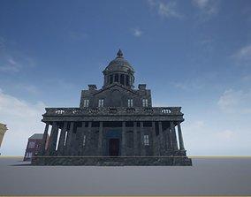 BAROQUE TEMPLE inspiration Greenwich 3D model