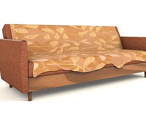 realtime Old style Vintage sofa 3D Model