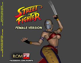 Street Fighter Vega Female Version - Printable