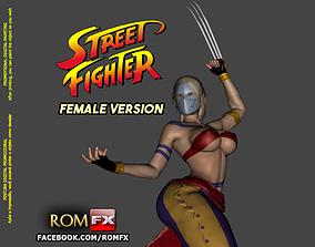 Street Fighter Vega Female Version - Printable ryu