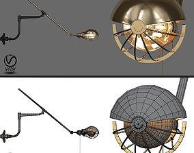 Steampunk Extension Pole Bra 3D model