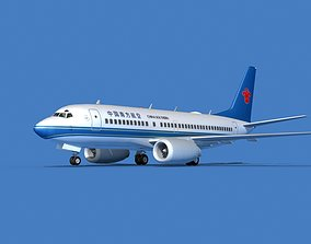 3D model Boeing 737 MAX 7 China Southern