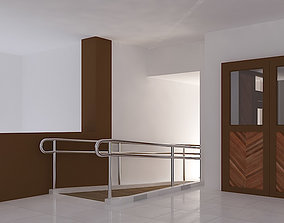 3D model ramp interior
