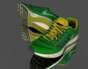walking Sneaker 3D model low poly low-poly