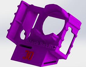 3D printable model GOPRO 3 and 4 WEDGE CASE 30DEG