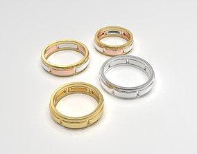 3D printable model Versatile band rings constructor