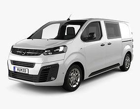 Opel Vivaro Crew Van L2 2019 3D