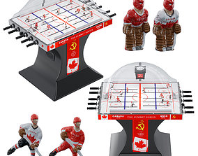 3D model Bubble hockey
