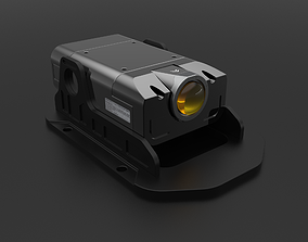 3D model Sci-Fi Camera Sensor Projector