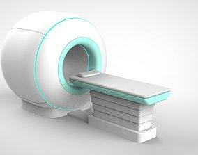 hospital MRI 3D model