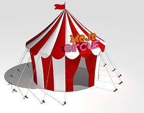 architectural Circus Tent 3D model