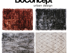 Set carpet Boconcept 3D model