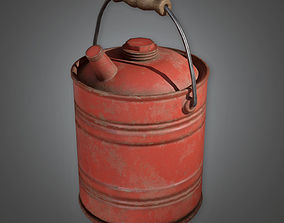 3D model Gas Canister TLS - PBR Game Ready