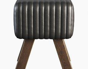 3D model Cawalet Footstool