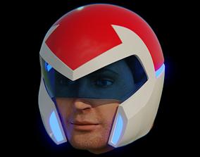 3D print model Voltron Pilot Helmet