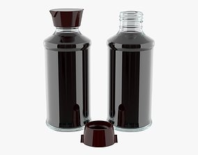 3D Soy sauce in a bottle 06