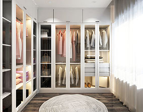 3D Dressing room luxury closet