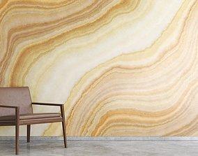 Yellow onyx marble texture 3D model