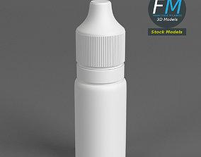 Opaque dropper bottle 2 3D
