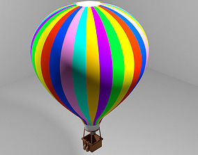 3D Hot Air Balloon - Modern
