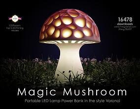 Magic Mushroom 3D print model