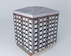 Street building in Denmark 3D
