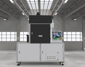 3D asset UV curing oven