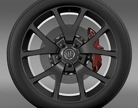 Buick Regal GS wheel 3D model