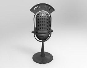 microfono 3D model