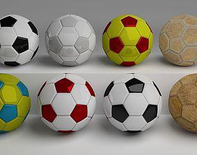 3D model Classic Football Pack