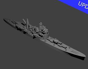 Japanese Myoko Class Cruiser Warship 3D print model