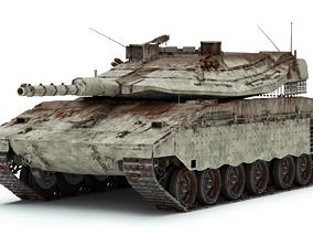 Merkava Mk IV - Battle Tank 3D model
