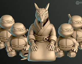 Turtle Warrior Set and 3D printable model