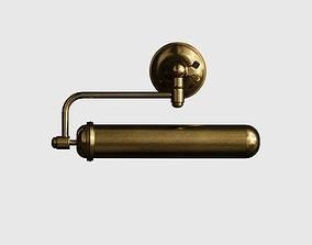 Belvedere Brass Wall Light 3d model
