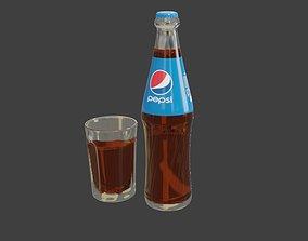 pepsi cola bottle 3D model